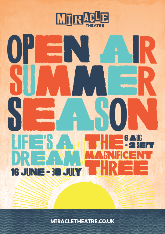 For the first time Miracle presents two shows this summer!