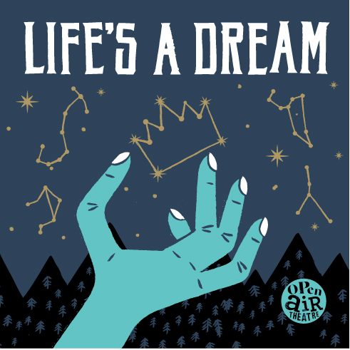 Tour poster for Life's A Dream