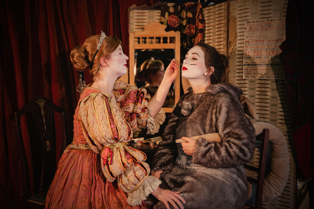 WATCH THE FFITCH REPERTORY PLAYERS BACKSTAGE <br /> &amp; listen to snippets of Cinderella songs!